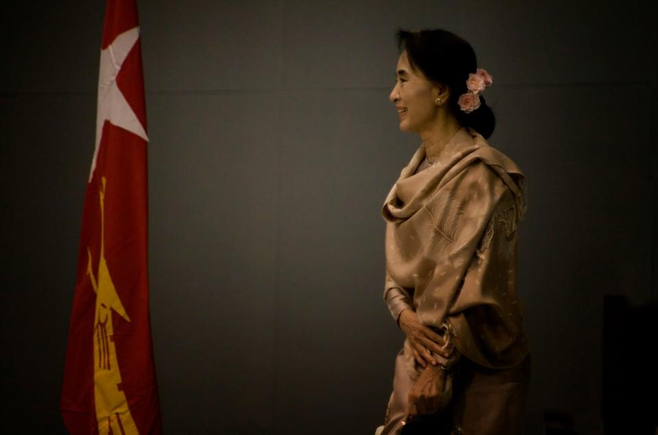 Aung San Suu Kyi In Tokyo 2013